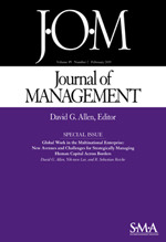 Journal of Management | SAGE Publications Inc