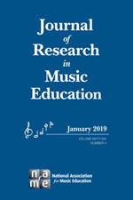 Journal of Research in Music Education   SAGE Publications Inc