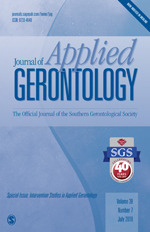 Journal of Applied Gerontology | SAGE Publications Inc