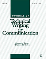 Journal of Technical Writing and Communication | SAGE