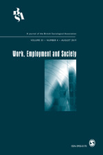 Work, Employment and Society | SAGE Publications Inc