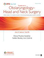 Otolaryngology–Head and Neck Surgery   SAGE Publications Inc
