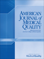 American Journal of Medical Quality | SAGE Publications Inc