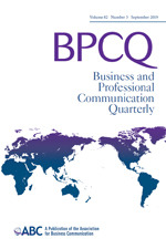 Business and Professional Communication Quarterly   SAGE