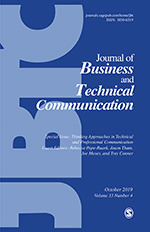 Journal of Business and Technical Communication | SAGE