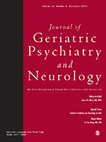 Image result for journal of geriatric psychiatry and neurology