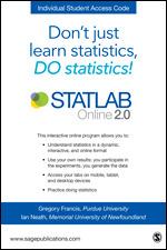 STATLAB Online 2 0 Student Slim Pack | SAGE Publications Inc