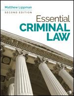 Essential Criminal Law | SAGE Publications Inc