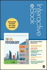 Social Psychology Interactive eBook   SAGE Publications Inc