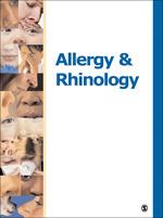 Allergy & Rhinology Journal Cover