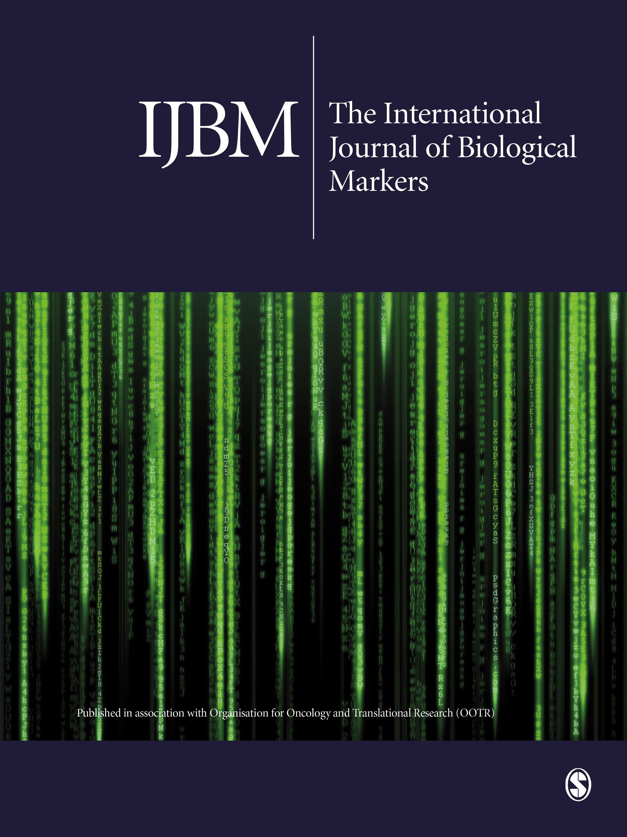 International Journal of Biological Markers