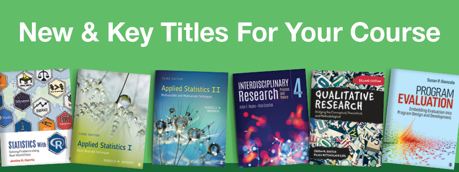 Research Methods, Statistics & Evaluation New Titles