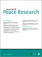 Journal of Peace Research cover image