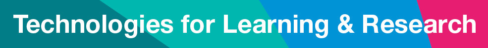Technologies for Learning & Research_banner
