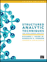 Structured Analytic Techniques for Intelligence Analysis Book Cover