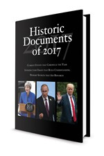 Historic Documents of 2017 Cover