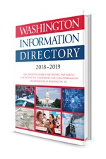 Washington Information Directory 2018-2019 Cover