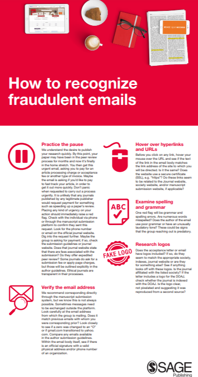 How to Recognise Fraudulent Emails PDF Screenshot
