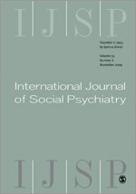 International Journal of Social Psychiatry