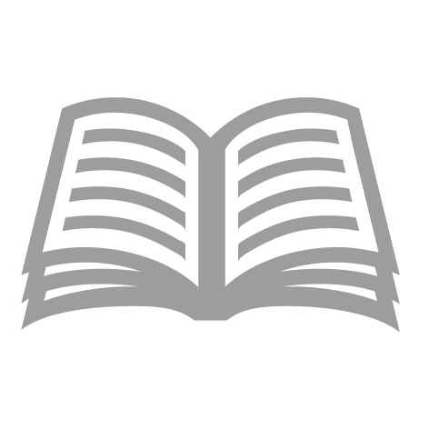 Open magazine or journal