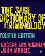 SAGE Dictionary of Criminology 4e