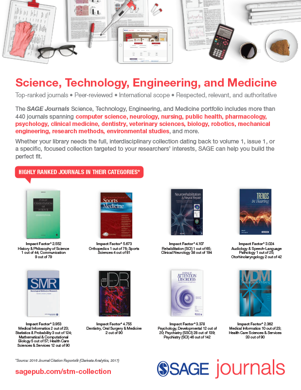 Science, Technology, Engineering, and Medicine Collections Flyer 2018