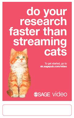 SAGE Video Poster