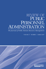 Review of Public Personnel Administration