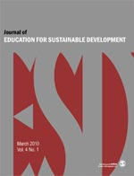 Journal of Education for Sustainable Development