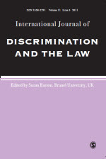 International Journal of Discrimination and the Law