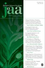 Journal of Advanced Academics