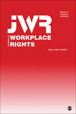 Journal of Workplace Rights