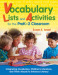 Vocabulary Lists and Activities for the PreK-2 Classroom
