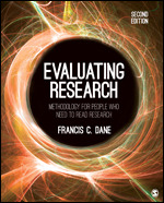 Evaluating Research: Methodology for People Who Need to Read Research, Second Edition