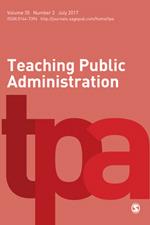 Teaching Public Administration