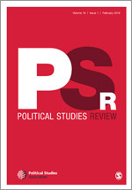 Political Studies Review cover image