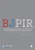 The British Journal of Politics and International Relations journal cover image
