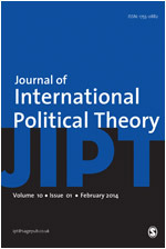 The Journal of International Political Theory cover image