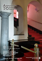 Administrative Science Quarterly Sage Publications Inc