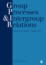 Group Processes & Intergroup Relations | SAGE Publications Inc