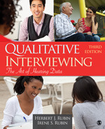 Cover of Qualitative interviewing book