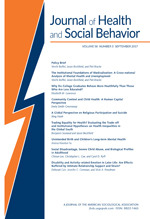 ournal of Health and Social Behavior Cover